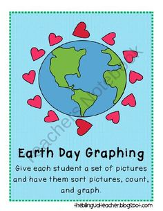 Earth Day Graphing Freebie from The Bilingual Teacher on TeachersNotebook.com (5 pages)