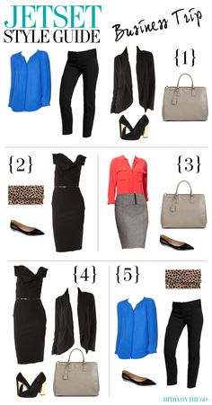 Jetset Style Guide - Business Trip. http://hithaonthego.com #travel #packing