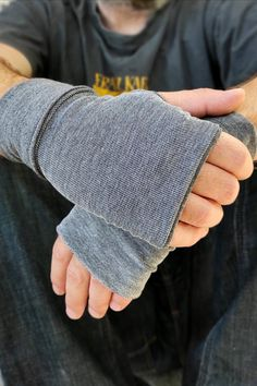 Fall Accessories, Handmade Accessories, Presents For Men, Gifts For Him, Casual Wear For Men, Wrist Warmers, Mens Gloves, Dainty Jewelry, Fingerless Gloves