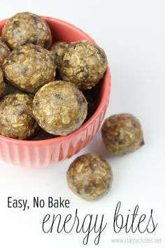 Easy, No Bake Energy