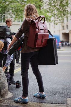 Street Muses...LFW...@Christina & Gutterman House, London