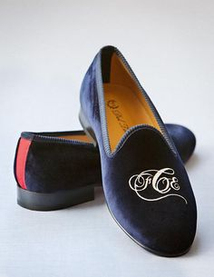 I'm bold, but am I bold enough to wear monogrammed slippers?