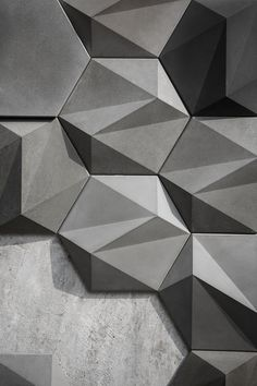 Concrete Wall Decoration - SAN on Behance