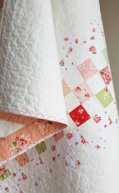 Best 12 Backing pieced from scraps, Woodberry Way, simple scrap quilt, Summer Blush by Riley Blake, baby quilt – SkillOfKing. Strip Quilt Patterns, Strip Quilts, Scrappy Quilts, Easy Quilts, Owl Quilts, Quilt Blocks, Owl Patterns, Patchwork Quilting, Sewing Patterns