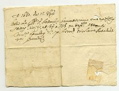 Fede di Sanità di Pieve (di Teco-Imperia) del 1680.