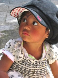 Girl at Matico Lema's in Otavalo.