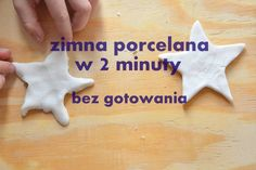 zimna-porcelana-diy-przepis-cold-porcelain-tutorial-bez-gotowania Diy Crafts Videos, Diy And Crafts, Diy For Kids, Crafts For Kids, Cold Porcelain Tutorial, Activities For Kids, Games For Kids, Doll Repaint, Salt Dough