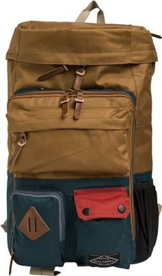 Billabong Mountain Backpack http://www.swell.com/Mens-Under-100-Gifts/BILLABONG-MOUNTAIN-BACKPACK-2?cs=KH