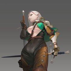 ArtStation - knight, kim moon-hee