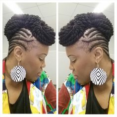 Braided Updo With Senegalese Twists Shared By Lanisa Willams - http://www.blackhairinformation.com/community/hairstyle-gallery/braids-twists/braided-updo-senegalese-twists-shared-lanisa-willams/ #braidsandtwists