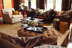Fabulous living room by Dann Foley.