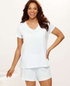Plus Size Sleep Short Sets   Jockey Plus Size Pajamas, Sleepwear Tee - Lingerie - Women - Macy's