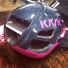 New Iris Kask Protone helmet.  Want one?  Come and get it! #bikeporn #twohubs #kask #protone #iris #madeinitaly #madeinitaly #helmet #cyclinghelmet