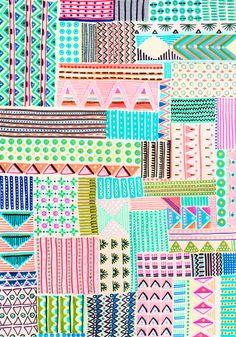 Handmade patterns by Anna Niestroj aka Blink Blink