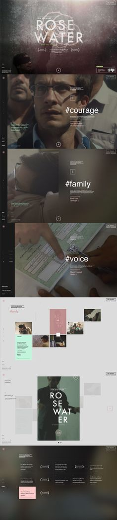 This navigation is really beautiful. I could see the rolling video, full screen . Layout Design, Web Layout, App Design, Website Design, Website Layout, Website Web, Website Ideas, Gui Interface, User Interface Design
