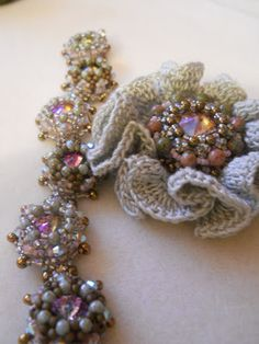 beads and crochet :)