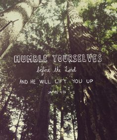 Humble yourselves before the lord and he will lift you up. James 4:10 grace God Jesus Christ cross love bible quote gold pink saying Christian faith trust truth prayer