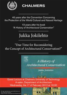 History of Architectural Conservation Jukka Jokilehto