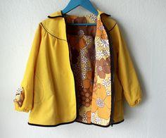 Vintage sheet lined jacket