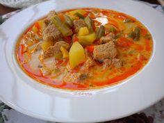 Erika konyhája: PALÓCLEVES Thai Red Curry, Ethnic Recipes, Foods, Food Food, Food Items