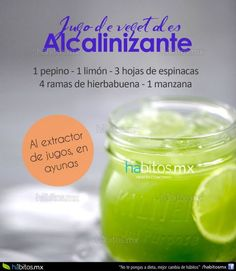 JUGO DE VEGETALES ALCALINIZANTE