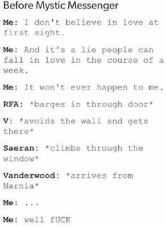 So would you say...that Vanderwood came out of the closet? Lmao