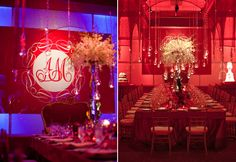 Wedding Colors – Elegance and Drama in Red, White and Black
