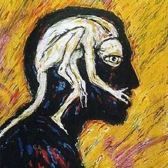 Official Site with fascinating insight into the work of Clive Barker. Art gallery - Self Portrait 1 Arte Horror, Horror Art, Art Sketches, Art Drawings, Urbane Kunst, Posca Art, Arte Sketchbook, Hippie Art, Wow Art