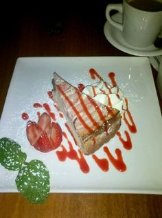 Strawberry Cheesecake from Citrus Bar & Grill