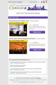 Quikbook - Subject line: Alert: NYC Price Drop - Save Over $100