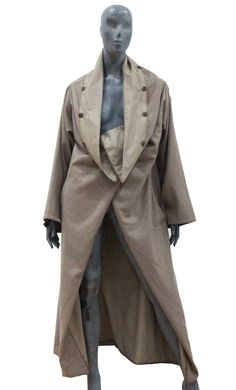 Rare Maison Martin Margiela Duvet Coat c.1999 | From a collection of rare vintage coats and outerwear at https://www.1stdibs.com/fashion/clothing/coats-outerwear/