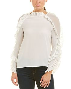 Chelsea And Walker Silk Blouse High Fashion, Fashion Tips, Boutique, Chelsea, Product Launch, Retail, Ruffle Blouse, Silk, Luxury Travel
