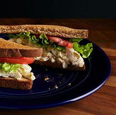 Trisha's homemade chicken salad sandwiches