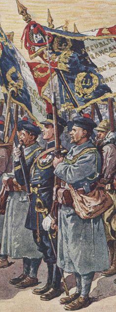 Les fusiliers marins dans la grande guerre