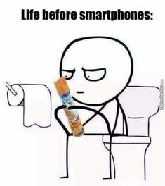 funny if you were born before smartphones!