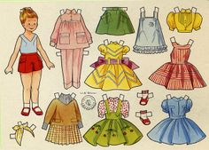 bente* For lots of free Christmas paper dolls International Paper Doll Society #ArielleGabriel artist #ArtrA thanks to Pinterest paper doll & holiday collectors for sharing *