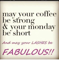 Hope everyone has a great Monday!  All I need is my coffee and my 3 D fiber lash mascara. What do you need to get your Monday started?   www.youniqueproducts.com/patriciaAblack