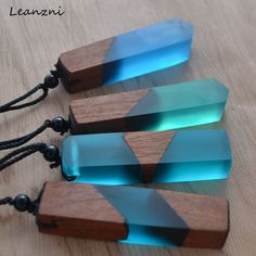 Leanzni Vintage men and women fashionable wood resin necklace pendant woven rope chain hot - Leanzni Vintage men and women fashionable wood resin necklace pendant woven rope chain hot selling jewelry gifts . Wood Necklace, Resin Necklace, Resin Jewelry, Jewelry Gifts, Pendant Necklace, Jewelry Ideas, Jewelry Websites, Wooden Jewelry, Necklace Chain