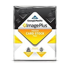 Amazon.com : GP Image Plus+ White Card Stock - 250 Sheet Pack (8-1/2 x 11) : Cardstock Papers : Office Products