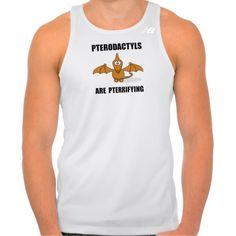 Pterodactyls Pterrifying Tshirts Tank Tops