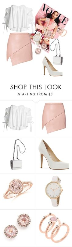 """""""After work picnic"""" by sarina161 ❤ liked on Polyvore featuring Caroline Constas, Michelle Mason, Kendall + Kylie, Jessica Simpson, Dana Rebecca Designs, Michael Kors and Charlotte Russe"""