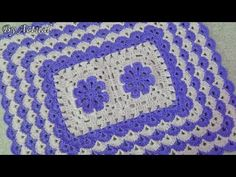 Diy And Crafts, Lily, Blanket, Youtube, Afghan Crochet, Door Mats, Carpet Design, Crochet Ornaments, Rugs