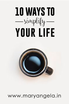 In this post, I am going to discuss ways we can try and simplify our lives…
