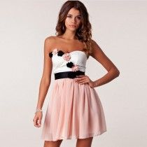 Sexy Women Floral Lace Backless Prom Wedding Evening Mini Dress PK/S
