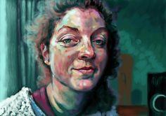 Lisa (Skype series) iPad painting