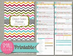 The Polka Dot Posie: Introducing our NEW Direct Sales Planner: Instructions for Printing, Assembling and Organizing