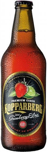 Kopparberg With Strawberry & lime