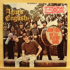 JOHN-FRED-AND-HIS-PLAYBOY-BAND-Agnes-English-Vinyl-LP-Judy-in-Disguise-RAR