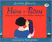 "Hairs/Pelitos—""Everybody in our family has different hair""/ ""Todos en nuestra familia tenemos pelo diferente,"" begins this rhythmic, bilingual picture book taken from acclaimed novelist/short-story writer Cisneros's The House on Mango Street. Sandra Cisneros, The House On Mango Street, Get To Know You Activities, English Story, Spanish English, Story Writer, Mentor Texts, Read Aloud, Paperback Books"