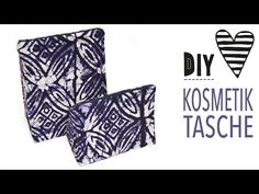 DIY MODE | Kosmetiktasche nähen